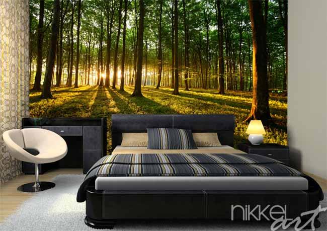 imgbd - bos behang slaapkamer ~ de laatste slaapkamer ontwerp, Deco ideeën
