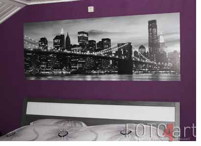 Foto op aluminium New York